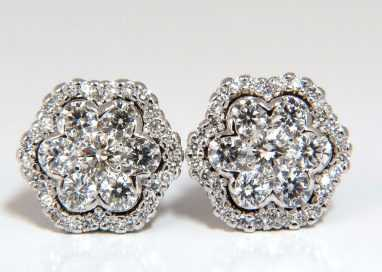 Stud earrings vs Cluster earrings: are they the same?
