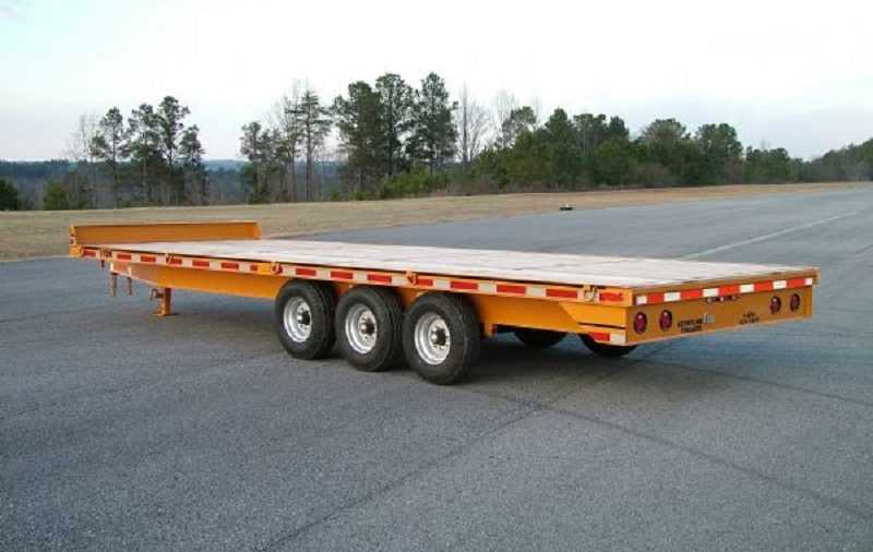 What Can You Move with a Flatbed Trailer Rental Company