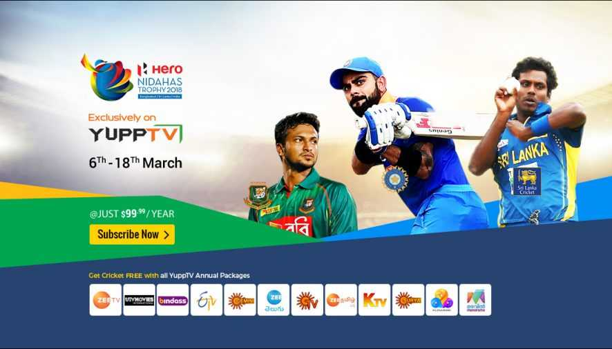 How to Watch Nidahas Trophy Live from Various Countries