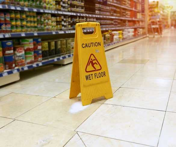 Do You fell at a store? Know what you can do for a claim